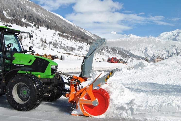 Снегоочиститель Cerruti Super-MIDDLE PLUS 500-550 механический